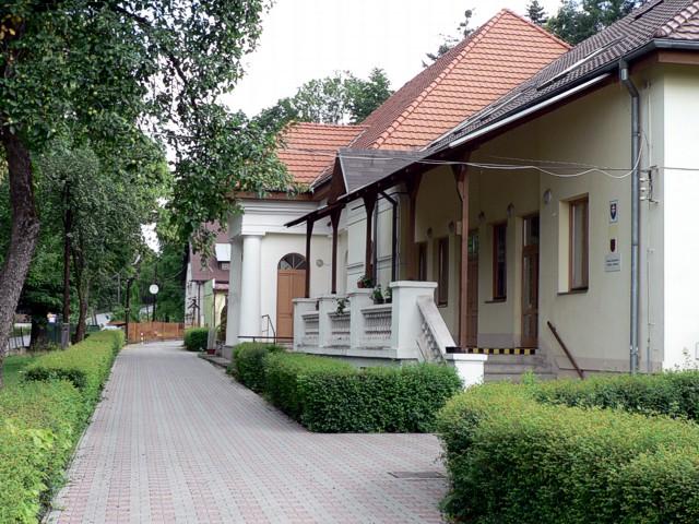 Obrázok: Pohľad na administratívnu budovu